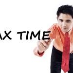 bigstock Tax Consultant Writes Tax Time 115441898