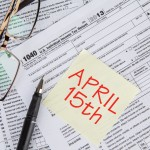 bigstock Tax Form With The Deadline Tim 84295040