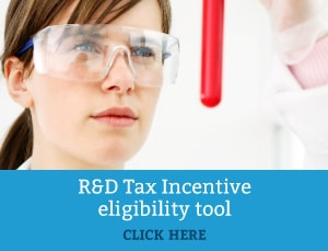 Research and Development Tax Incentive Eligibility Tool