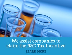 We assist companies to claim the R&D tax incentives